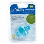 """Dr. Brown's Transition Teether """"Orthees"""" - Blue"""