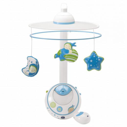 لعبة مهدئة لسرير أطفال ماجيك ستار - أزرق من شيكو