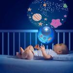 لهاية مهدئة لسرير أطفال ماجيك ستار - وردي من شيكو