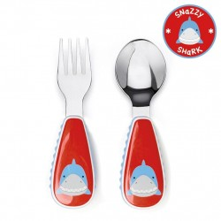 Skip Hop Zootensils Fork And Spoon - Shark