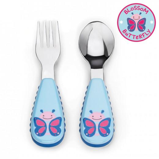 Skip Hop Zootensils & Spoon - Butterfly