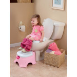 Fisher Price Stepstool Potty Princess Pink