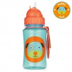 Skip Hop Zoo Straw Bottle - Dog