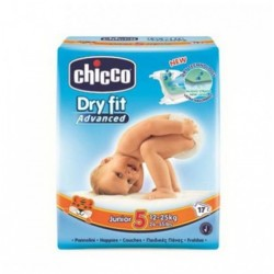 Chicco Dry Fit Plus Size 5 Junior 12-25 Kg 17 PCS