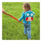 Skip Hop Zoo Little Kids & Toddler Harness Backpack, Owl