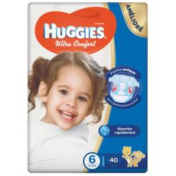 Huggies Jumbo Size (6) 15-30 kg, 40 Diapers
