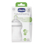 Chicco Natural Feeling (4M+) 250 ml Adjustable Flow