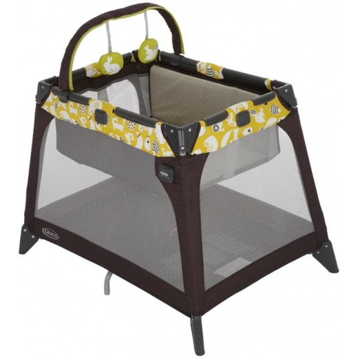 Graco Pack n Play Nimble Nook, Spring Lime