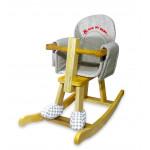 إي بيبي: كرسي هزاز خشبي للأطفال على شكل الحصان