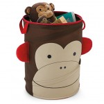 Skip Hop Zoo Pop-Up Hamper, - Monkey