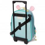 حقيبة مدرسية بعجلات بطبعة وحيد القرن للجنسين من سكيب هوب، متعددة الالوان