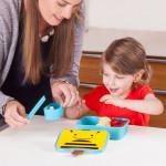 طقم حافظة الطعام للاطفال مع اشكال حديقة الحيوان من سكيب هوب, نحل