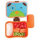 طقم حافظة الطعام للاطفال مع اشكال حديقة الحيوان من سكيب هوب, الكلب