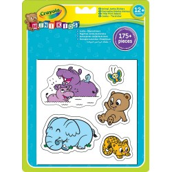 Crayola Jumbo Animal Stickers 1X24