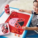 مفرش طاولة الاكل للأطفال الصغار من سكيب هوب, فراشة
