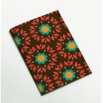 Colors & Shapes Geometric Flower Oriental Pattern Notebook