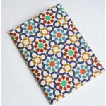 دفتر ملاحظات بتصميم زخرفة شرقية مغربية