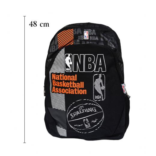 NBA Gray-Black & Orange BackPack-48cm