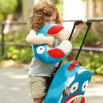Skip Hop Zoo Little Kid and Toddler Travel Neck Rest, Owl