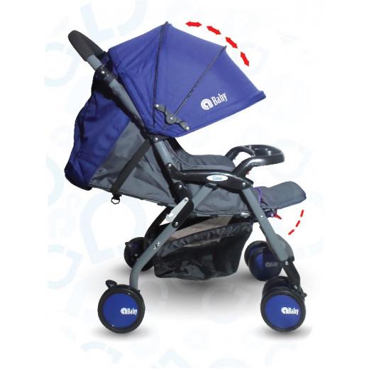 aBaby Stroller - Blue