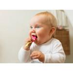 Jordan Children's Toothbrush Step 1, (0-2 years) Soft Brush - Yellow