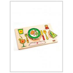 Edu Fun Insert Boards (Mealtime)