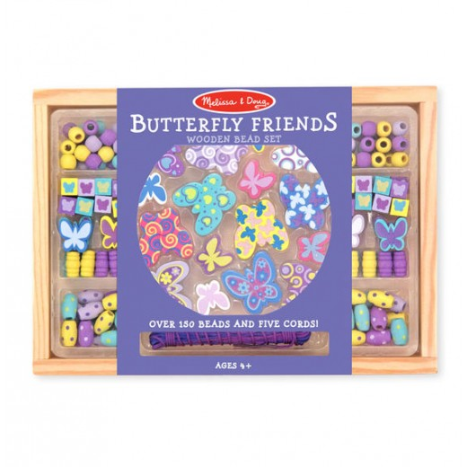 Melissa & Doug Butterfly Friends Bead Set