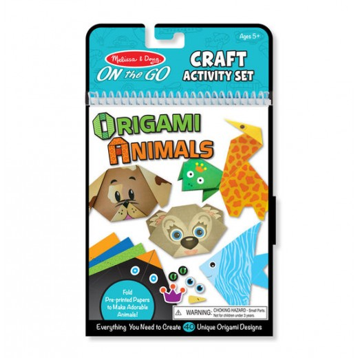 Melissa & Doug On-the-Go Crafts - Origami Animals