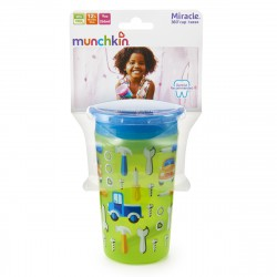 Munchkin Miracle 360° Deco Sippy Cup - 266ml (Green Car)