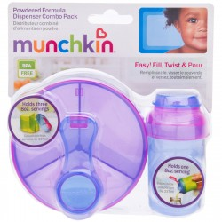 Munchkin Formula Dispenser Combo Pack (Blue/Purple)