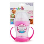 Munchkin Flexi-Transition Trainer Cup - 4oz (Pink)