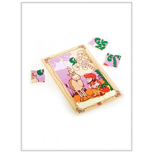 Edu Fun One thousand and one nights puzzle (Alaa Al-din & camel)