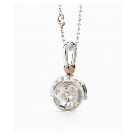 Le Bebe Silver Ball Necklace