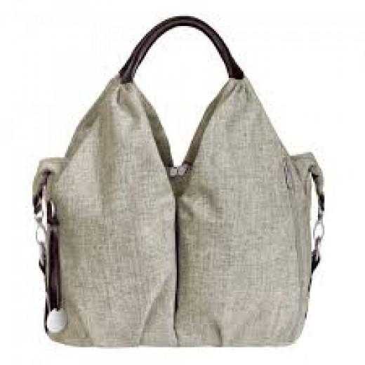 Lassig Neckline Bag, Choco Melange