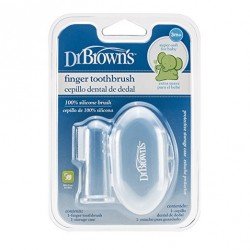 Dr. Brown's Finger Toothbrush with Case
