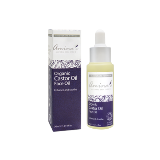 Amina's Organic Castor Oil Face Care - 30ml