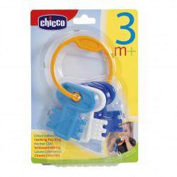 Chicco Teething Key Ring - Blue