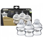 Tommee Tippee Triple Pack Closer to Nature Bottles, 150ml