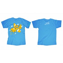 Adam Wa Mishmish T-Shirt for Children - Blue - 6 years