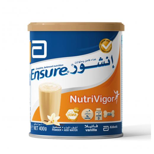 Abbott, Ensure Nutrivigor 400 g - Vanilla