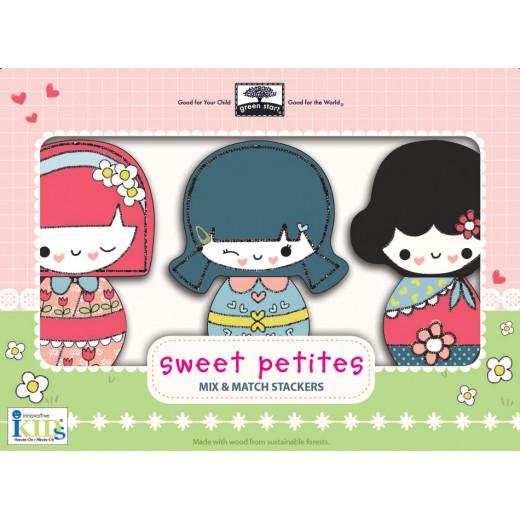 Wodden TOY Mix & Match :Sweet Petites