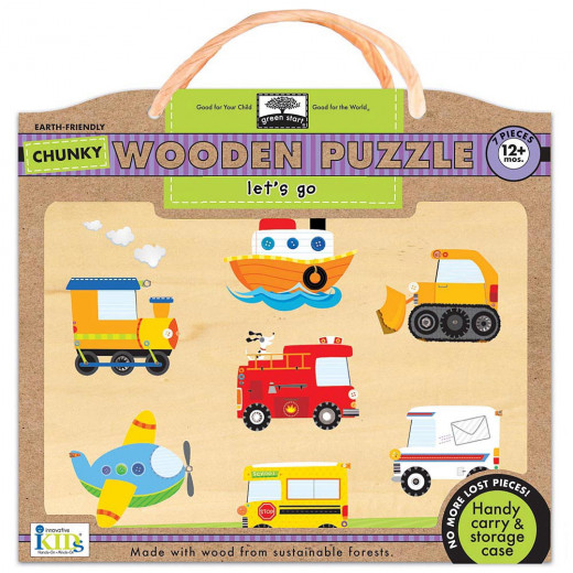 Let's Go Wodden Puzzles