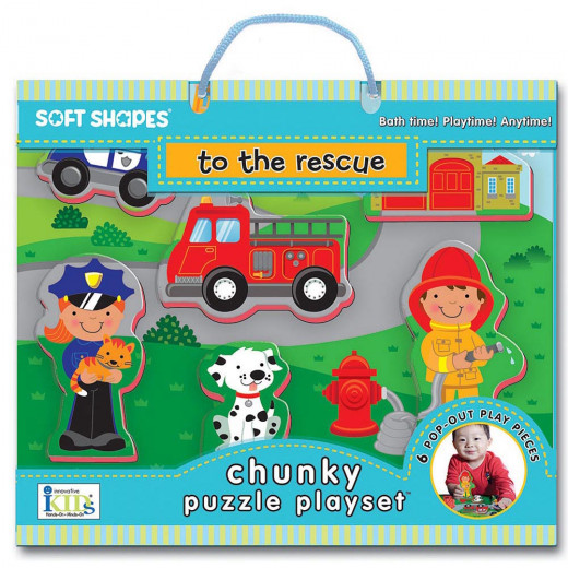 Innovative Kids Green to the rescue:Puzzle