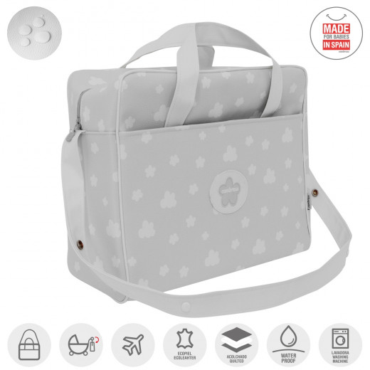 Cambrass Maternity Bag  ,Nube -Grey