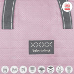 Cambrass Maternity Bag ,Pic - Pink