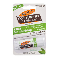 Palmer's Cocoa Butter Formula Dark Chocolate & Peppermint Ultra Moisturizing Lip Balm
