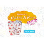 Pure Born - Organic Nappy Size 2, Cyrine Limited Edition Print, 3-6 Kg, 32 Nappies, Cheetah