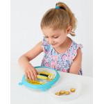 وعاء طعام للأطفال الصغار لأوقات الطعام من سكيب هوب بيبي زو، نحلة
