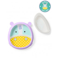 Skip Hop Zoo Smart Serve Plate & Bowl Unicorn