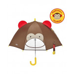 Skip Hop Zoobrella Little Kid Monkey Umbrella